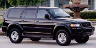2001 Mitsubishi Montero Sport Photo