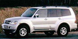 2001 Mitsubishi Montero XLS