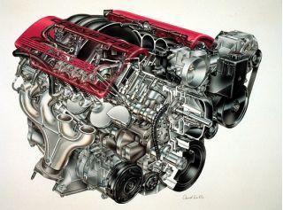 2001 Chevrolet Corvette Z06 engine