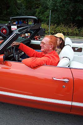 2001 Dream Cruise orange man