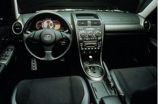 2001 Lexus IS 300 interior