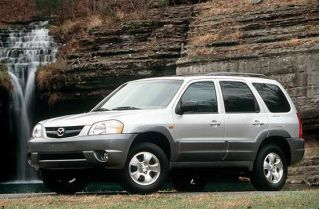 2001 Mazda Tribute side
