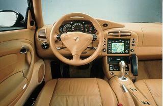 2001 Porsche 911 Turbo interior