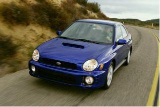 2002 Subaru Impreza Sedan (Natl) Photo