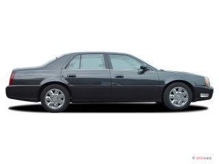 2003 Cadillac DeVille 4-door Sedan DTS Side Exterior View