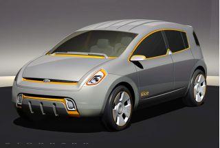 2003 Kia KCD-1 Slice concept