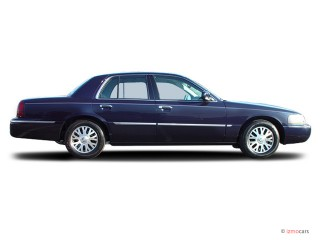 2003 Mercury Grand Marquis 4-door Sedan LS Premium Side Exterior View