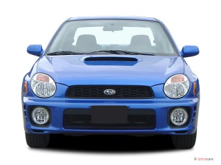 2003 Subaru Impreza 4-door Sedan WRX Manual Front Exterior View