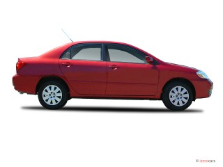 2003 Toyota Corolla 4-door Sedan LE Manual (Natl) Side Exterior View