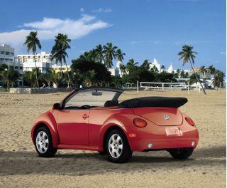 2003 Volkswagen New Beetle Convertible