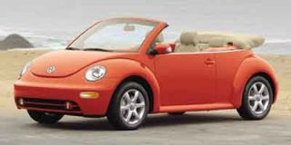 2004 Volkswagen New Beetle Convertible Photo