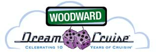 2004 Woodward Dream Cruise logo