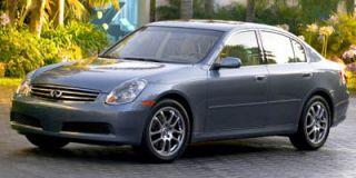 2005 Infiniti G35 Sedan Photo