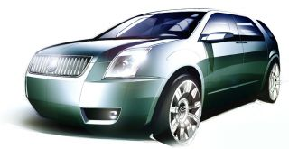 2005 Mercury Meta One concept