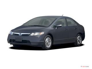 2006 Honda Civic Hybrid CVT Angular Front Exterior View