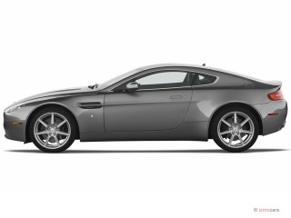 2007 Aston Martin Vantage 2-door Coupe Manual Side Exterior View