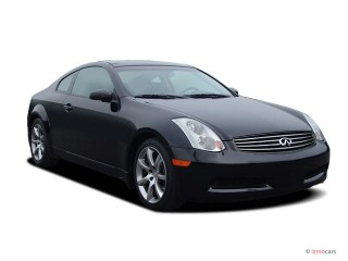 2007 Infiniti G35 Coupe 2-door Auto Angular Front Exterior View