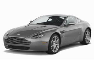 2008 Aston Martin Vantage 2-door Coupe Man Angular Front Exterior View