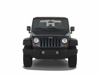2008 Jeep Wrangler 4WD 2-door Rubicon Front Exterior View
