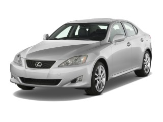 2008 Lexus IS 350 4-door Sport Sedan Auto Angular Front Exterior View