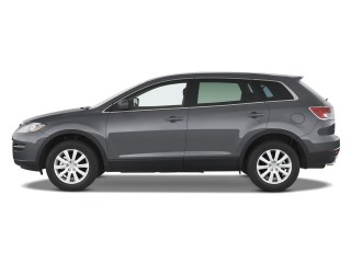 2008 Mazda CX-9 FWD 4-door Sport Side Exterior View