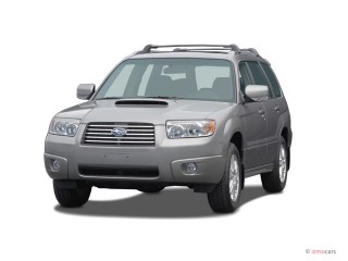 2008 Subaru Forester 4-door Auto XT Ltd Angular Front Exterior View