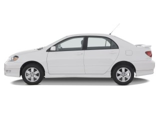 2008 Toyota Corolla 4-door Sedan Auto S (Natl) Side Exterior View