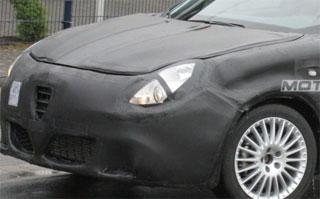 2010 Alfa Romeo Milano spy shot (cropped)