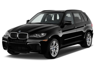 2010 BMW X5 M AWD 4-door Angular Front Exterior View