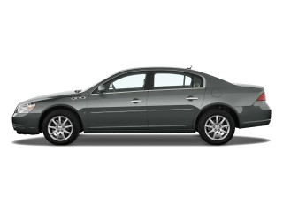 Side Exterior View - 2010 Buick Lucerne 4-door Sedan CXL