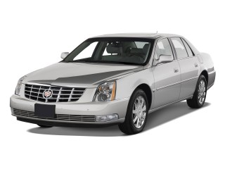 2010 Cadillac DTS 4-door Sedan w/1SA Angular Front Exterior View