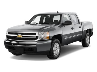 "2010 Chevrolet Silverado 1500 Hybrid 2WD Crew Cab 143.5"" 1HY Angular Front Exterior View"