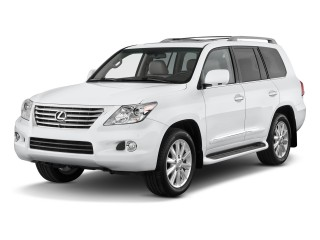 2010 Lexus LX 570 4WD 4-door Angular Front Exterior View