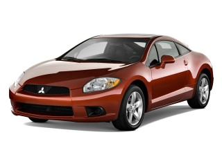 Angular Front Exterior View - 2010 Mitsubishi Eclipse 3dr Coupe Auto GS