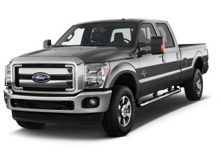 2011 Ford Super Duty F-350 SRW Angular Front Exterior View