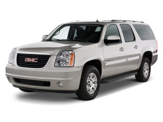2011 GMC Yukon XL 2WD 4-door 2500 SLE Angular Front Exterior View