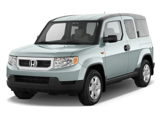 2011 Honda Element 2WD 5dr EX Angular Front Exterior View