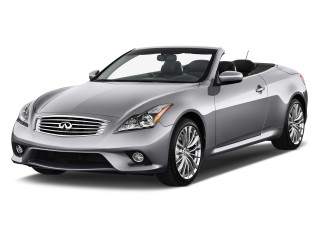 2011 Infiniti G37 Convertible 2-door Base Angular Front Exterior View
