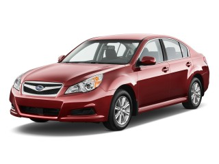 2011 Subaru Legacy 4-door Sedan H4 Auto 2.5i Prem Angular Front Exterior View