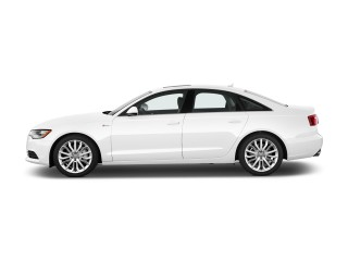 2012 Audi A6 4-door Sedan FrontTrak 2.0T Premium Plus Side Exterior View
