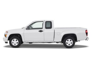 2012 Chevrolet Colorado 2WD Ext Cab Work Truck Side Exterior View