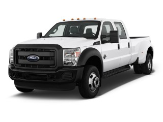 "2012 Ford Super Duty F-450 4WD Crew Cab 172"" XLT Angular Front Exterior View"