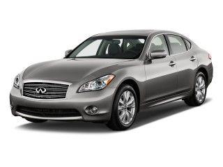 2012 Infiniti M37 4-door Sedan AWD Angular Front Exterior View