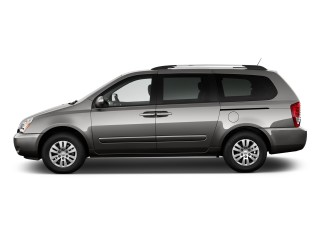 2012 Kia Sedona 4-door Wagon LX Side Exterior View