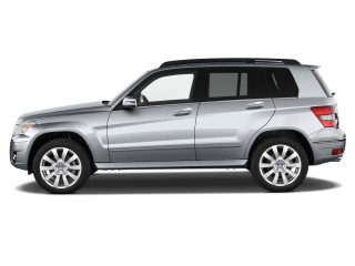 2012 Mercedes-Benz GLK Class RWD 4-door Side Exterior View