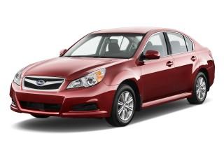 2012 Subaru Legacy 4-door Sedan H4 Auto 2.5i Premium Angular Front Exterior View