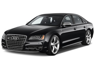 Angular Front Exterior View - 2013 Audi S8 4-door Sedan