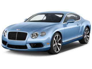 2013 Bentley Continental GT V8 2-door Coupe Angular Front Exterior View