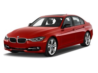 2013 BMW 3-Series 4-door Sedan 335i RWD Angular Front Exterior View