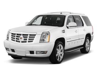 2013 Cadillac Escalade Hybrid 2WD 4-door Angular Front Exterior View